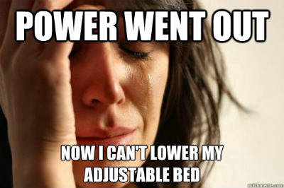 adjustable bed disadvantages