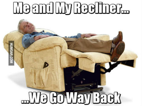 recliner side effects
