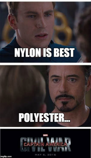 Polyester vs Nylon