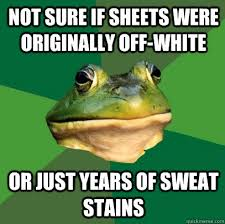 how remove yellow body stain