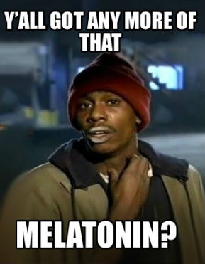 thc melatonin better sleep